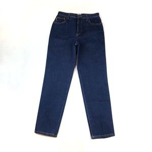 Moschino | Vintage Blue Denim Peace Sign Jeans | 8